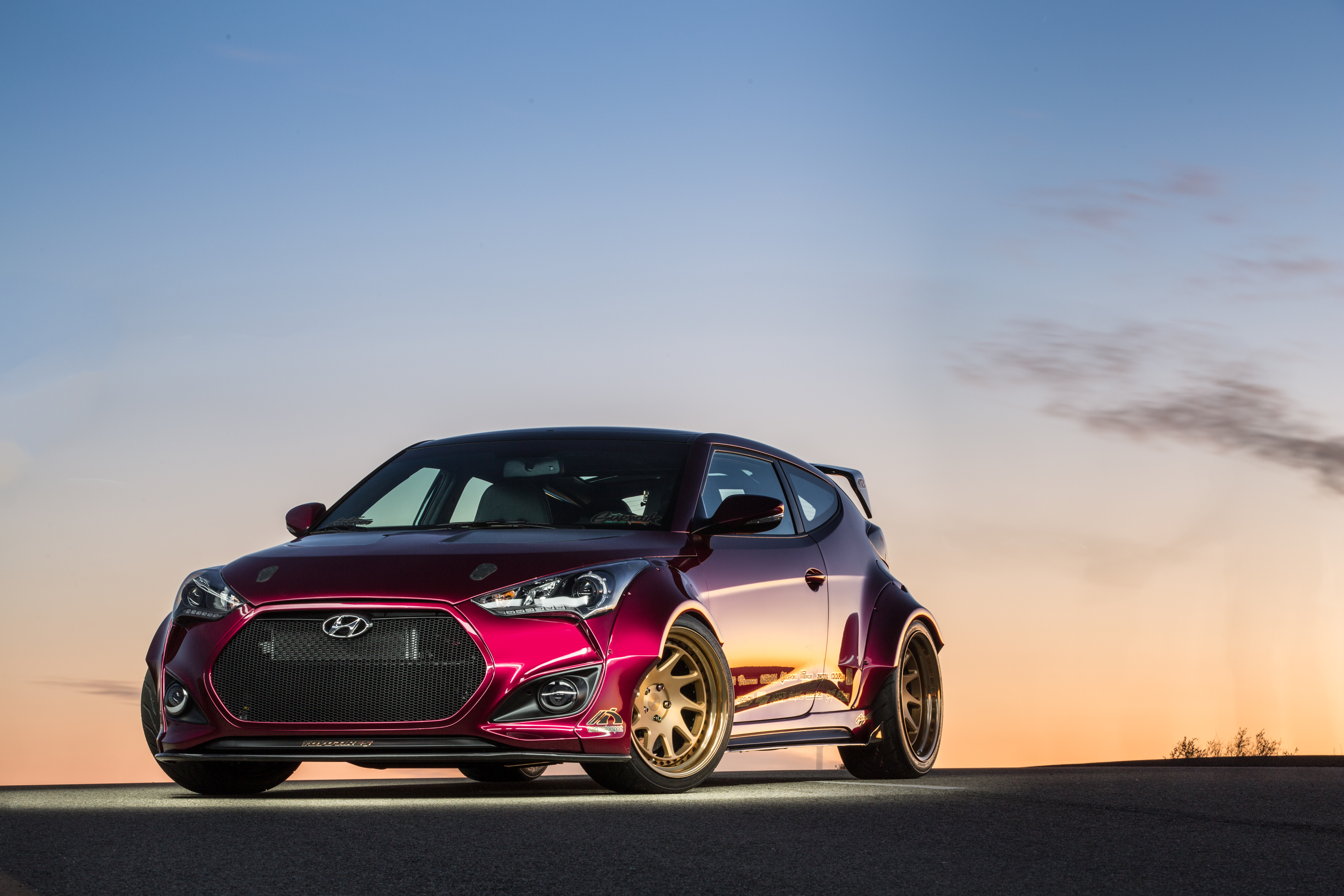 Gurnade Veloster 2016 Sema Build Lightner Motorsports Hyundai Turbo Intercooler Check Out These Amazing Photos From Proving Grounds In The Mojave Desert By Jason Chatterley Design And Innocean Usa